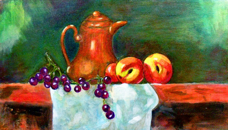 Still Life Drawing and Painting